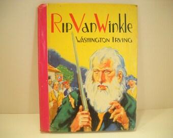 Vintage 1941, The Little Color Classics, Rip Van Winkle (13) Washington Irving