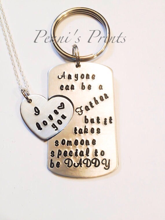 Daddy daughter jewelry step father gift dad adoption dad like this item mozeypictures Choice Image