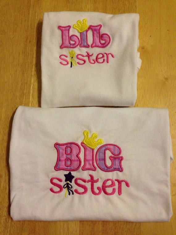 Items similar to Big sister little sister shirt on Etsy