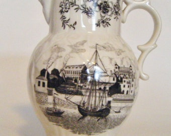 Antique Royal Worcester Made in England Bicentenary 1751 to 1951 Pitcher
