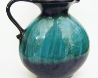 Gorgeous Mid Century Canadian Art Pottery Pitcher Well Marked