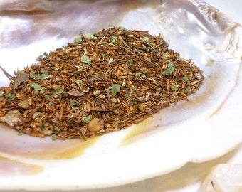 Tea Sample - Almond Twilight -  Rooibos loose leaf tea - Almond