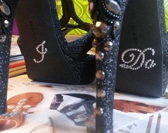 I Do Stickers, I Do Shoe Sticker, Something Blue, I Do Shoe Decal, I Do Stickers for Shoes, Bride Gift, Bridal Shower Gift, Wedding Shoes