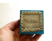 Personalised wooden trinket box tooth fairy box