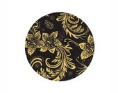 Paper napkin for decoupage x 1. Black Glamour . No 1273