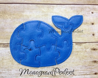 Whale Puzzle for Kids (Ready To Ship)