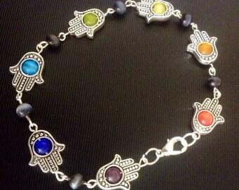 Hamsa Chakra Bracelet