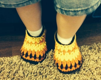 Baby Crochet Galilee Slippers