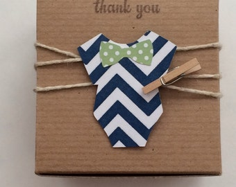 10  Little Man Baby shower favor bow tie favor boxes baby bow tie NEW