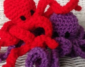 Crochet Octopus Toy
