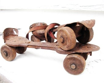 Vintage Skates Good And Rusty Toys Barn Find
