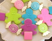 Candy land bright cookies