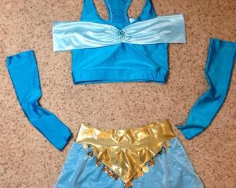 Arabian princess Inspired running costume