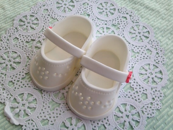 Cake Decoration Edible Baby Shoe