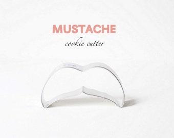 Mustache Cookie Cutter - Hipster - Trends - Wedding - Cookies - Custom