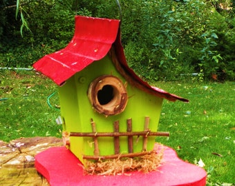 bird house, birdhouse, Small birdhouse with color options, 0801