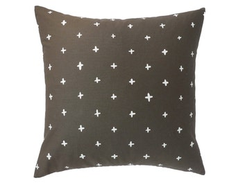 Stone Grey Plus Linen Pillow - 18.5 x 18.5 in.
