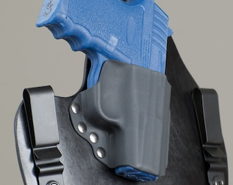 SCCY CPX-2 Leather Gun Holster IWB for Concealed Carry cpx and cpx2