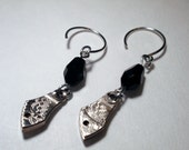 Steampunk Earrings, Vintage Watch Parts, Exceptional Etchings, Outstanding Quality