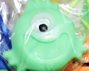 10 Little Monsters soap favors with out tags