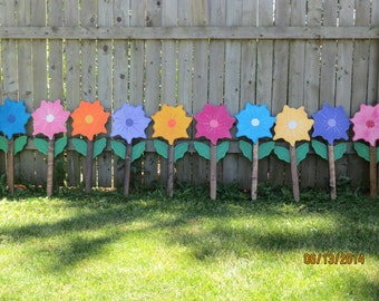 Popular items for outdoor flowers on etsy for Spring yard decorations