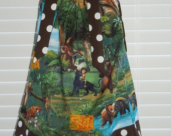 A boutique pillowcase dress featuring Jungle Book Characters :CH062