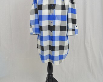 Vintage 80's Plaid Shirt