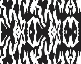"""2 Tiger Striped vinyl stencil decals 10""""x10"""""""