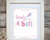 Princess- Ready For The Ball Wall Art Print
