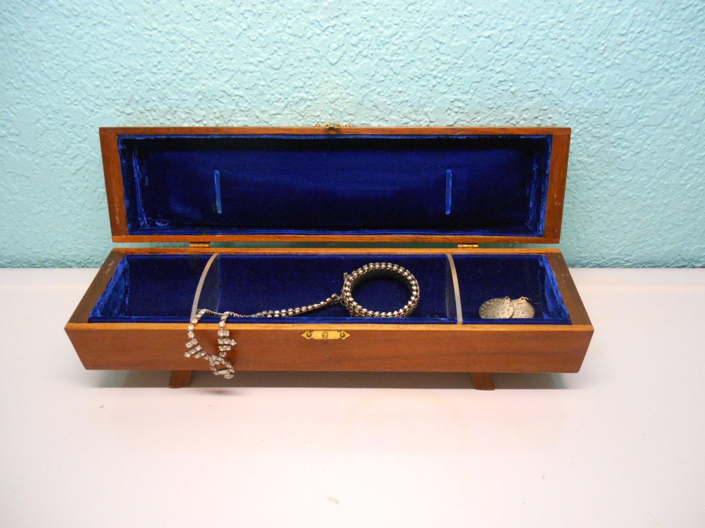 Handmade wooden jewelry keepsake box ooak by for Handmade wooden jewelry box