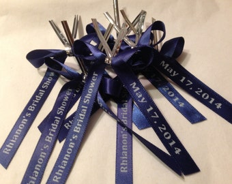 Personalized Ribbon For Party Favors 25, baby shower favors, wedding favors, baptism favors