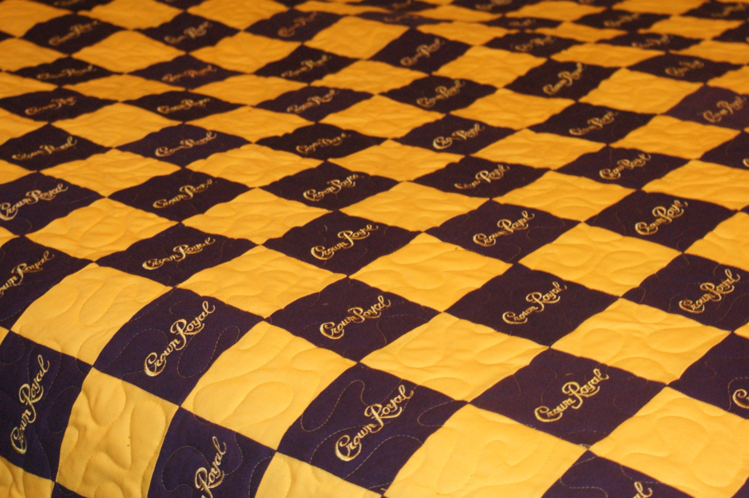 Mallory S Full Size Crown Royal Quilt Blanket