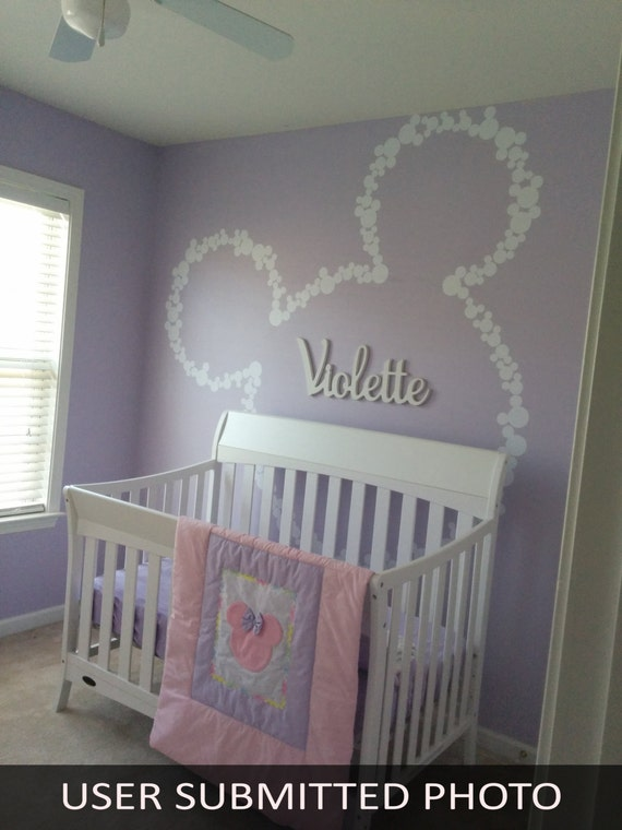 Unavailable listing on etsy for Baby name nursery decoration