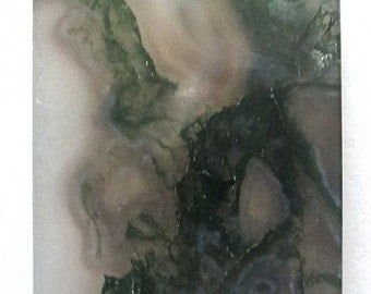 Multi Color Moss Agate Pendant Stone