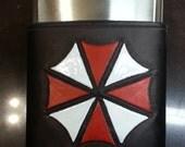 Umbrella Corporation / Resident Evil 8oz Hip Flask Holder with Flask