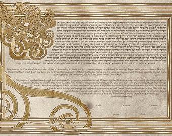 The Triskelion Tree Ketubah (Celtic)