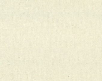 MODA 120 inch wide 200 Count Muslin Natural- Quilt Backing Fabric