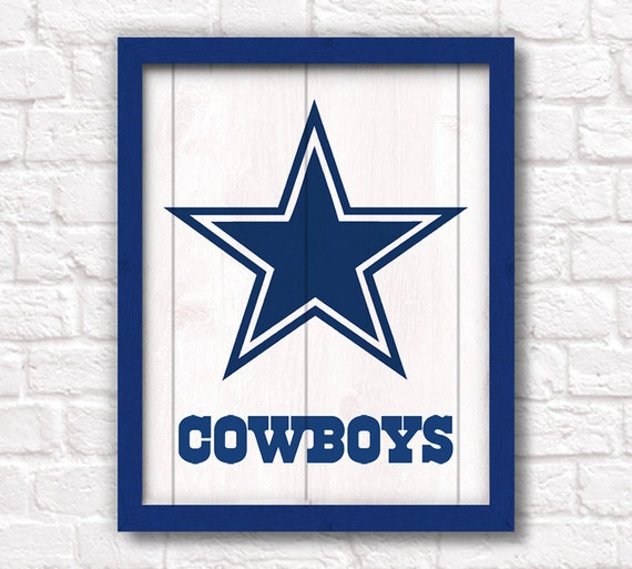 dallas cowboys wall sign for boys room or man cave decor cowboys fan