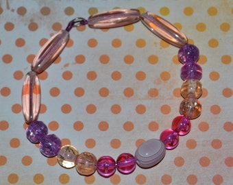 Pink & Purple Lovers' Dream Bracelet
