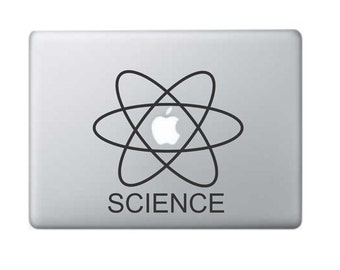 Macbook Decal Science Macbook Sticker  Laptop Decal Laptop Stickers Stickers Macbook