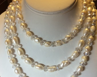Freshwater Pearl Triple Necklace