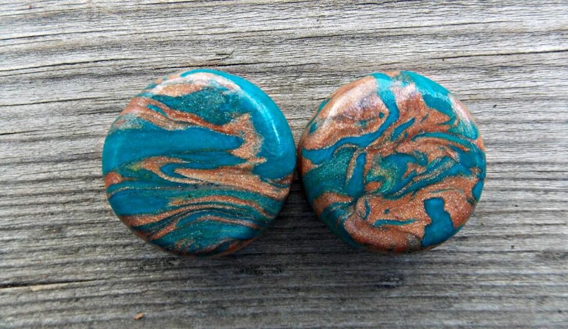 Custom Ear Plugs Native Spirit Ear Gauges by FateAndNecessity