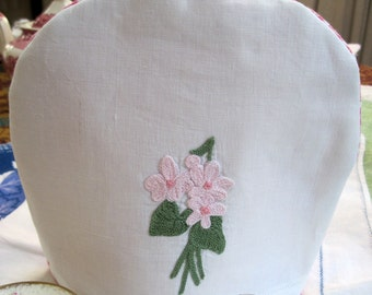 Handmade Child's Tea Cozy with Vintage Embroidery