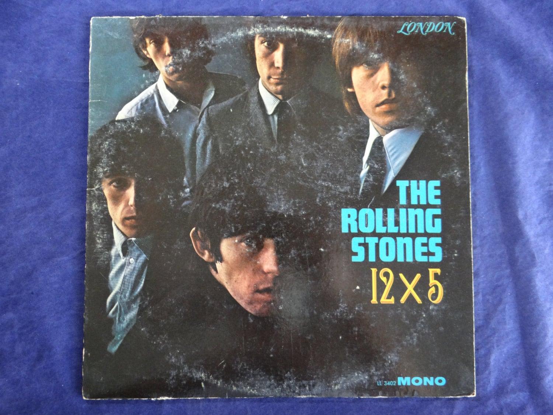 1964 Original Us First Edition Rolling Stones Ll 3402 Mono
