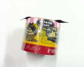 Mark's Japanese washi masking tape /  2 roll / MARK'S Gift Box  /  MKT14-YE / Yellow