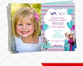 Frozen POOL PARTY invitations