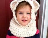Custom Bear Hooded Cowl