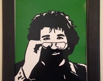 Jerry Garcia of The Grateful Dead Art Print