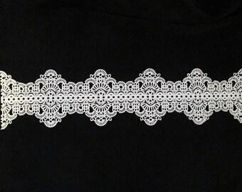 edible cake lace sugar wedding bridal white applique antique