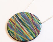crazy lines, multicolor rubberbands